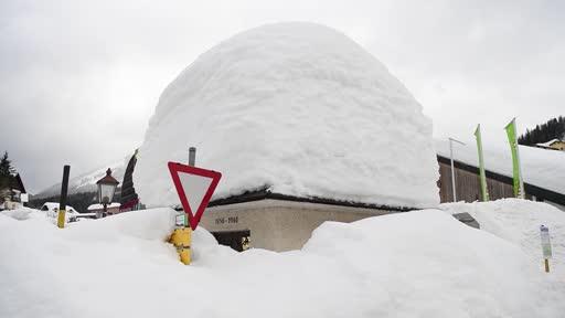 Aufnahmen zum Thema Winterwetter aufgenommen in Lackenhof am Ötscher (Niederösterreich)